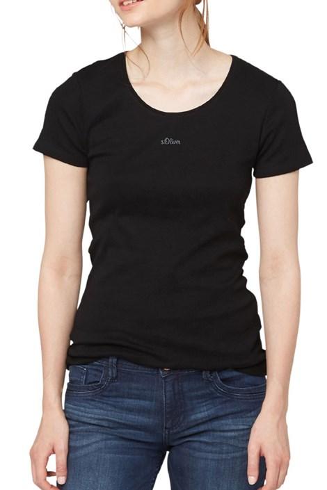 Dámske bavlnené tričko s.Oliver