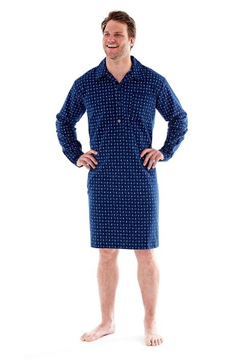 Pánská noční košile Robert Navy
