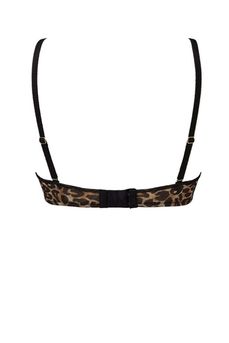 Podprsenka Gossard Glossies Leopard nevyztužená