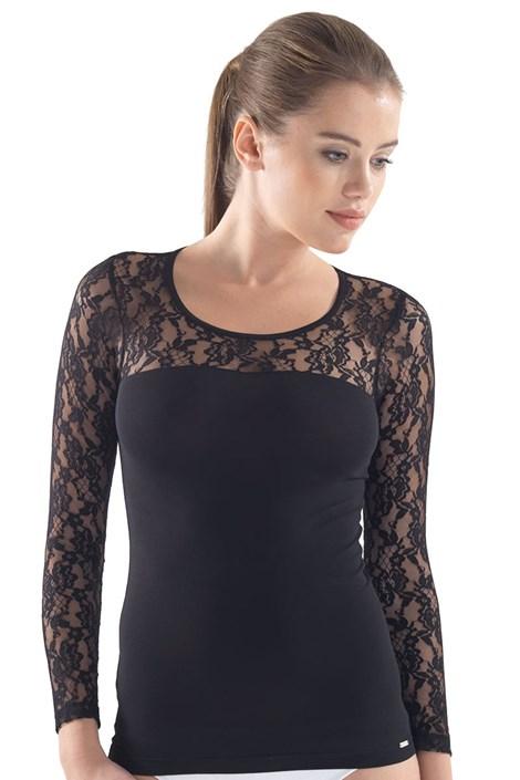 Dámske elegantné tričko Lexie s čipkou