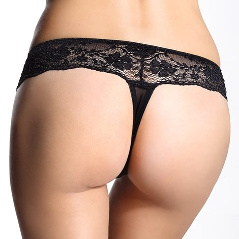 2pack tanga Sylvia Black