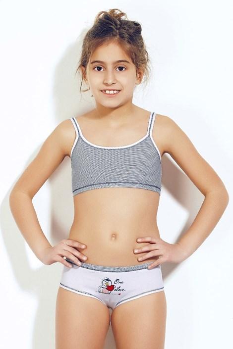 Dívčí komplet top a kalhotky Bimba 372v3