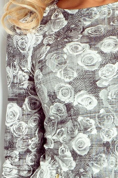 Dámské květinové šaty Cecile