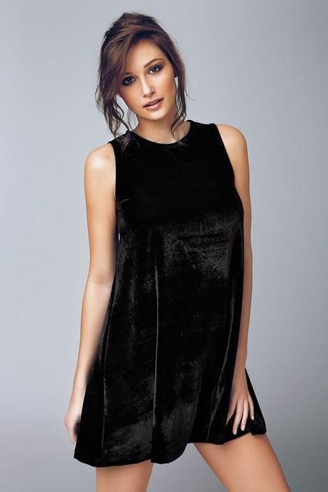 Dámské sametové šaty Biagio 4503