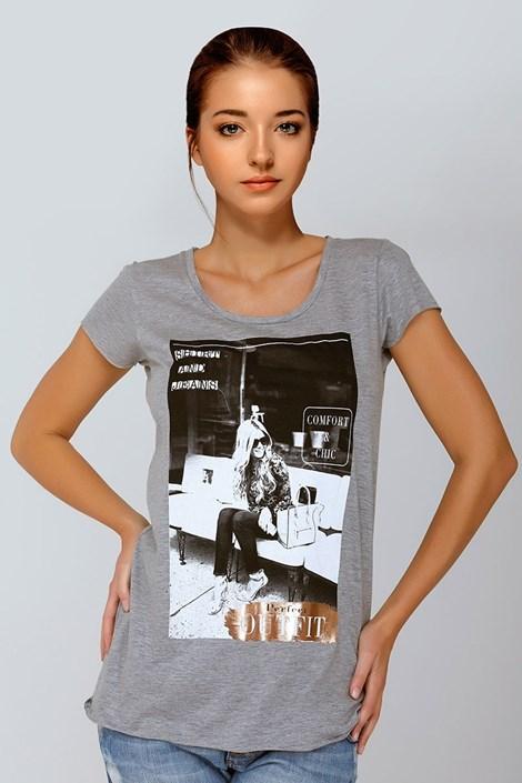 Dámské tričko Jadea 4536 v2 s modalem