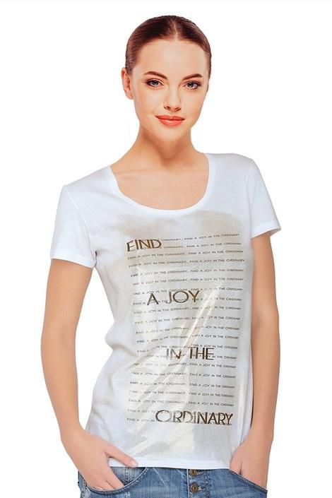 Женская футболка Sara White с модалем