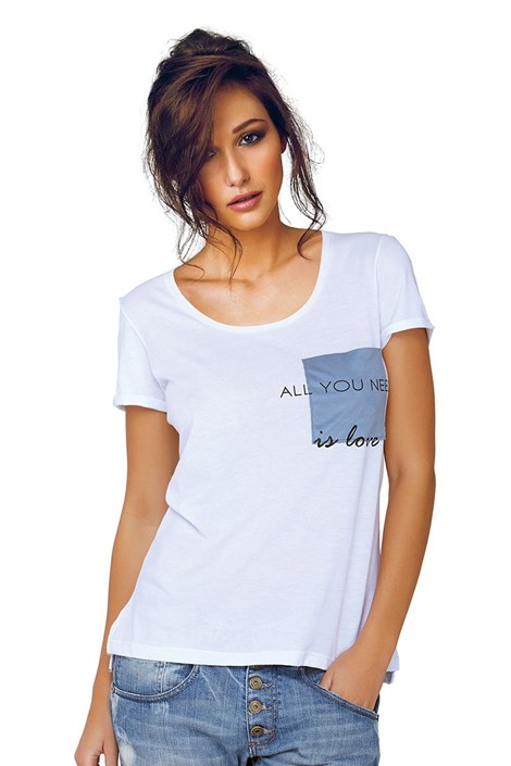 Tricou dama Jadea Jadea 4545v1 din modal