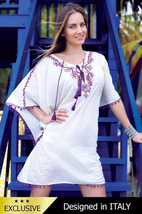 Роскошное итальянское пляжное платье 5141KH