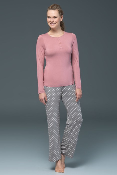 Dámské pyžamo Rose - modal
