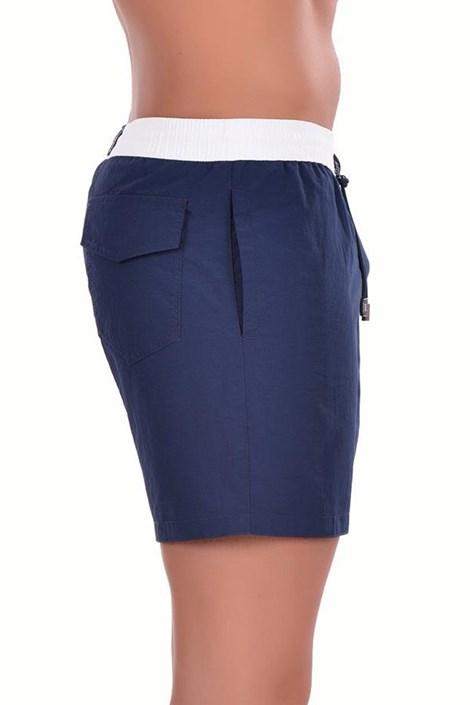 Pánské italské plavky šortky 5951D1 Bianco