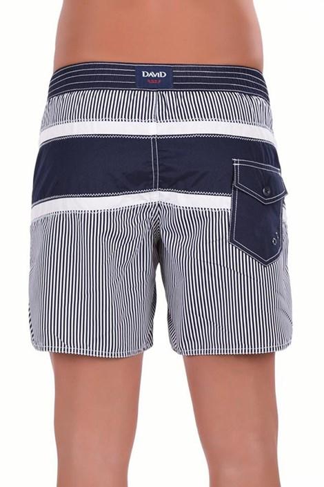 Pánské luxusní italské plavky 5952D6 - delší nohavička