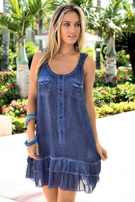 Luxusní italské letní šaty z kolekce Iconique 621KQ