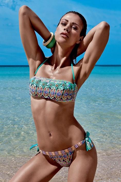 Dámské luxusní dvoudílné plavky Giulia s kosticemi