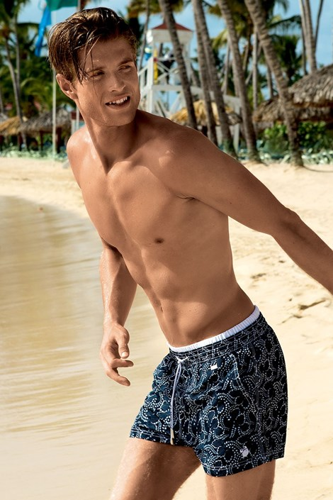 Мужские роскошные пляжные шорты Cesare