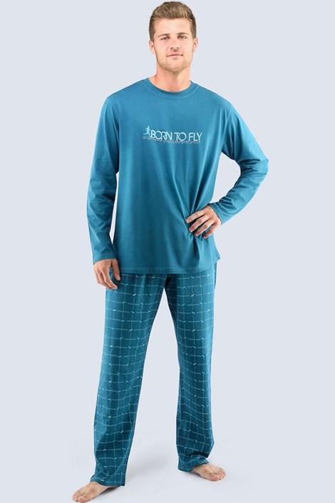 Pánské pyžamo Born to fly - dlouhé