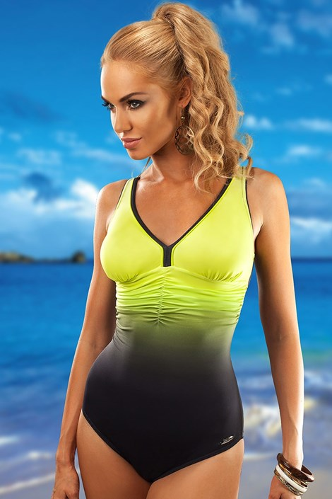Costum de baie intreg Belize Lemon