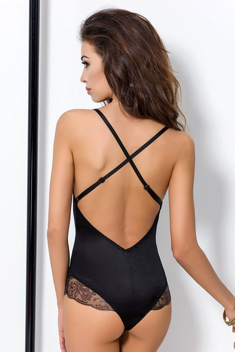 Elegantní body Brida Black