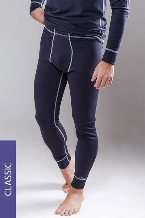 Termo nohavice pánske Classic - šedé