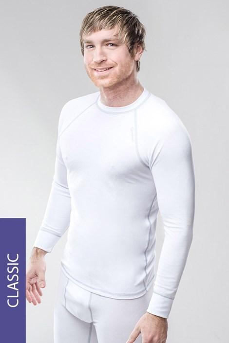Termo tričko pánske Classic - biele