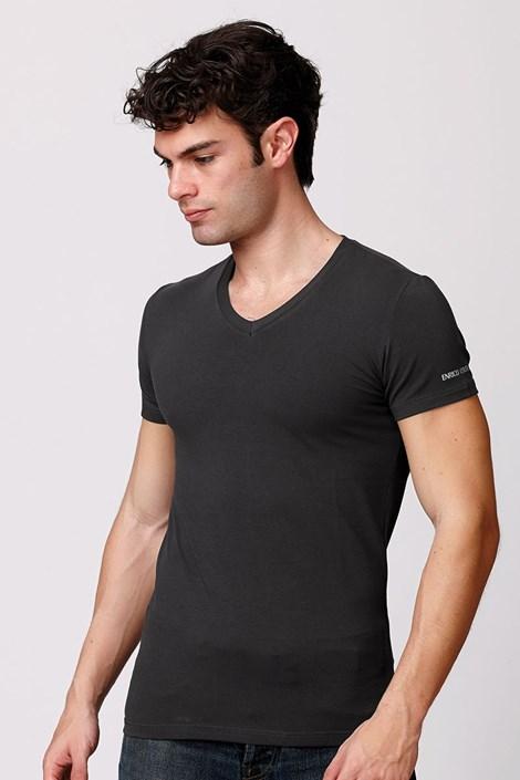 Pánské italské tričko Enrico Coveri ET1501 Londra bavlněné