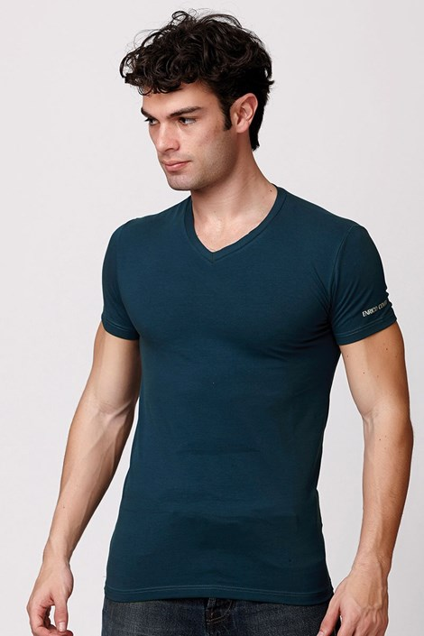 Pánské italské tričko Enrico Coveri ET1501 Otanio bavlněné