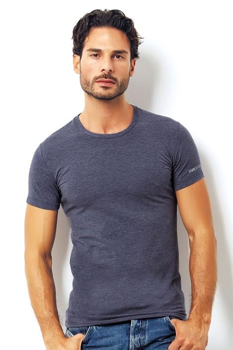Мужская итальянская футболка Enrico Coveri 1504 Blue