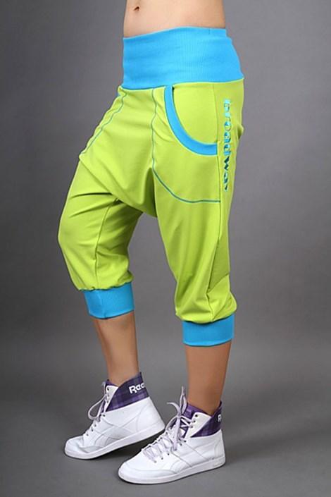 Sportovní kalhoty Electric lemon