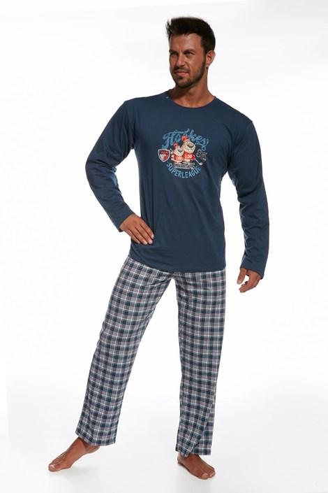 Pánské bavlněné pyžamo Hockey