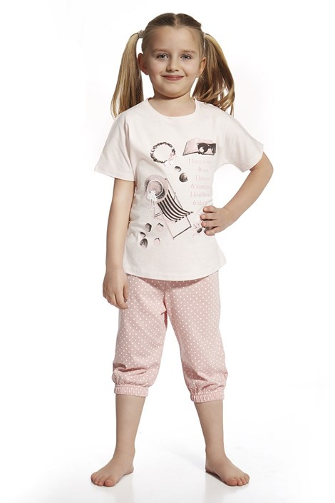 Dívčí pyžamo I love summer