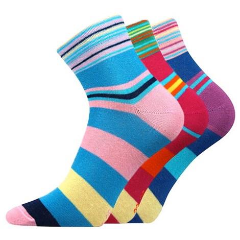 3pack ponožiek Jana Mix 32