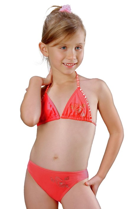 Detské, dievčenské plavky Julka