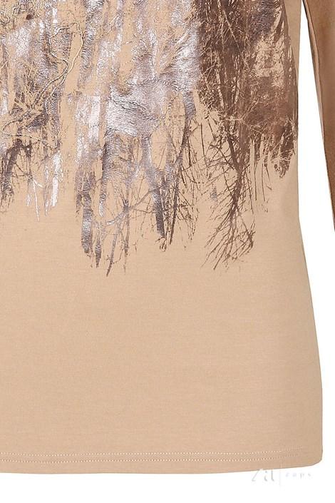 Elegantní dámské triko Kera Beige