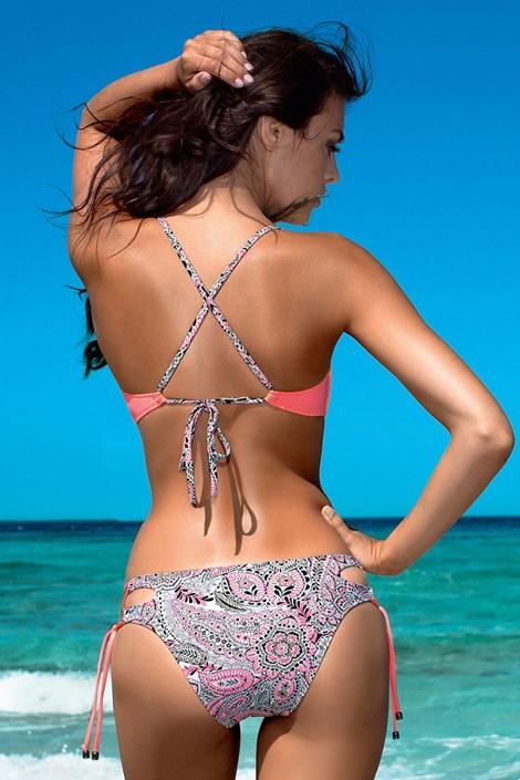 Dámské dvoudílné plavky Viki Push-Up s kosticemi
