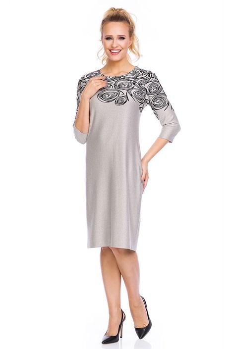 Dámské elegantní šaty Livia Beige
