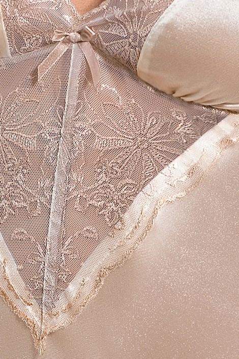 Elegantní košilka Lotus Cream
