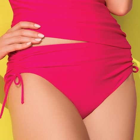 Slip costum de baie Maura Pink