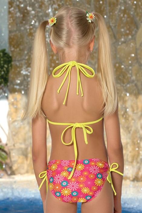 Dívčí plavečky Flower M46