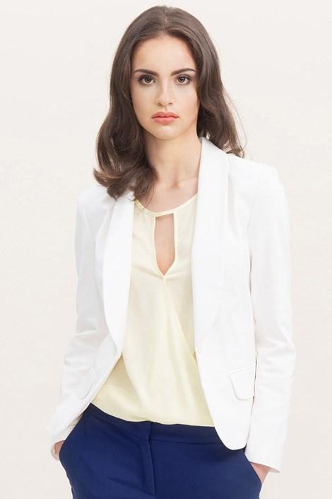 Женский пиджак Elen white
