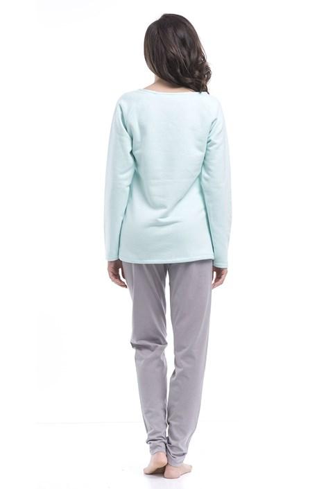 Dámske pyžamo Butterfly Aqua