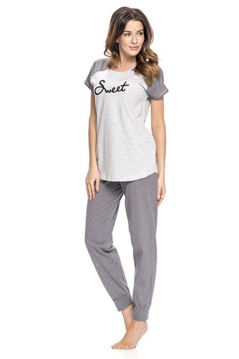 Pijama dama Sweet, pantalon lung