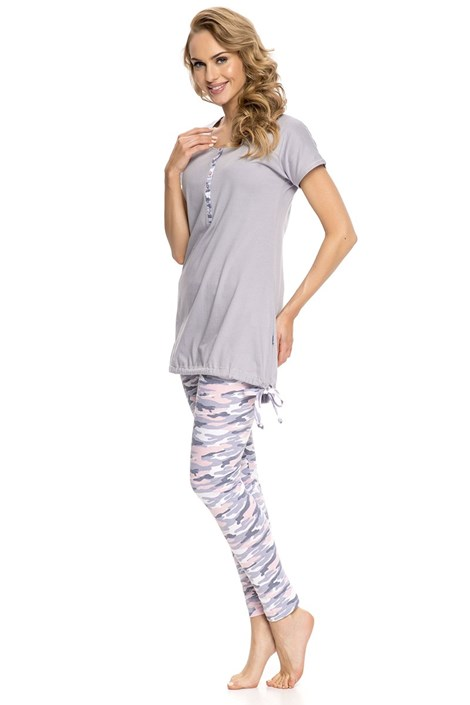 Dámské pyžamo Army Grey