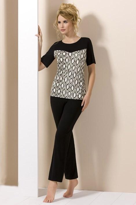 Elegantní dámské pyžamo Lady Black