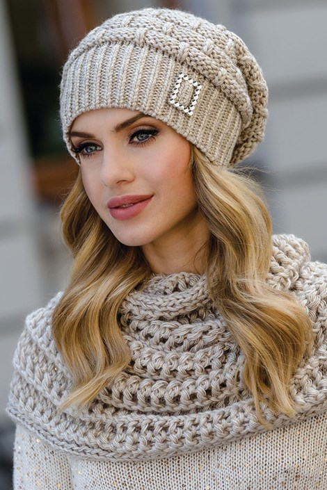 Dámska čiapka Paloma Beige