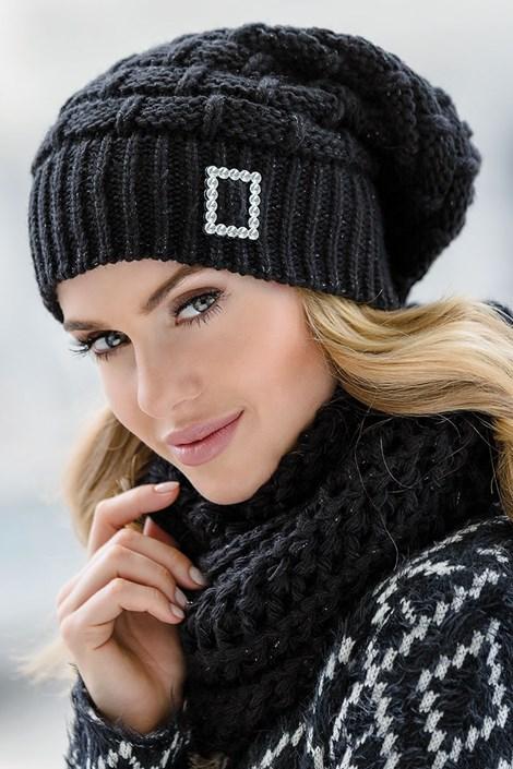 Женская шапка Paloma Black