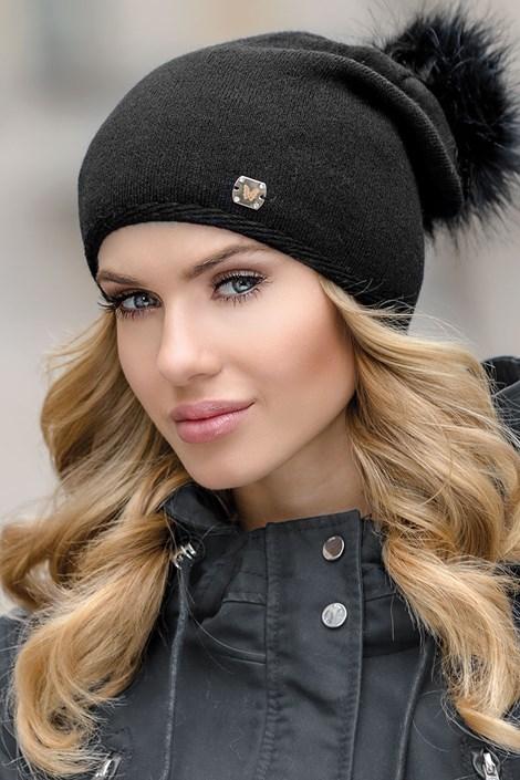 Dámska čiapka Pia Black