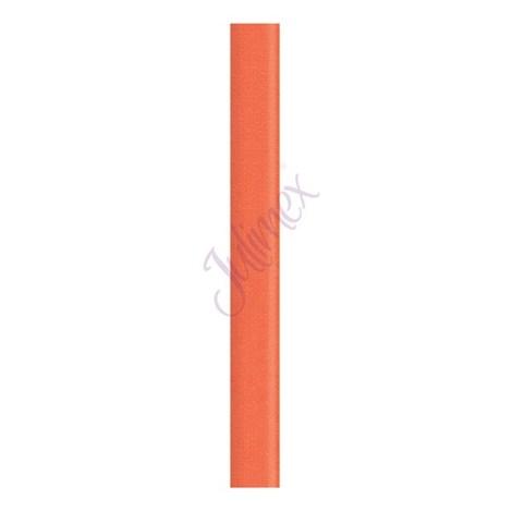 Textilní ramínka 10 mm oranžová