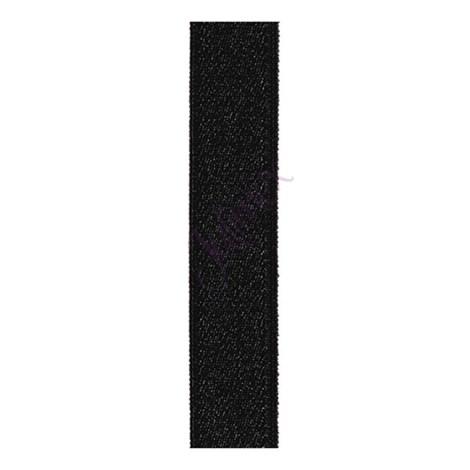 Textilní ramínka 18 mm černá