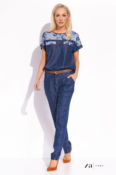 Dámské luxusní kalhoty Ruby z jemné džínoviny