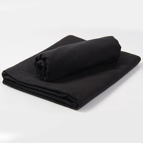 Funkční ručník a osuška černá