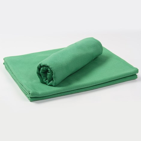 Funkční ručník a osuška zelená